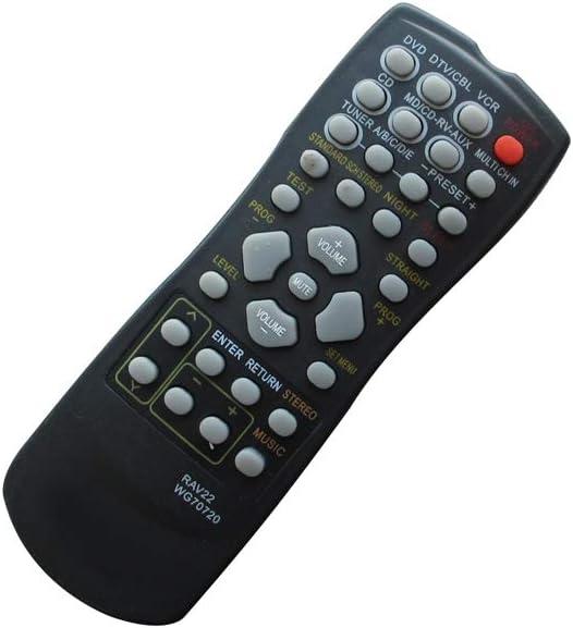 HCDZ Remote Replacement Control for Yamaha WA653400 WG503100 Natural Sound AV A//V Receiver