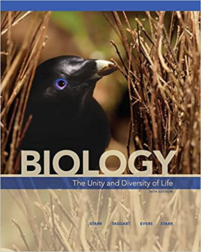 Biology: The Unity and Diversity of Life by Starr/Taggart