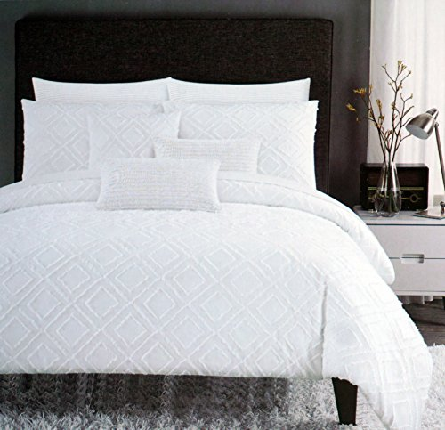 cotton bedding tc new comforter with set tahari piece home fabulous black excellent pc queen duvet full
