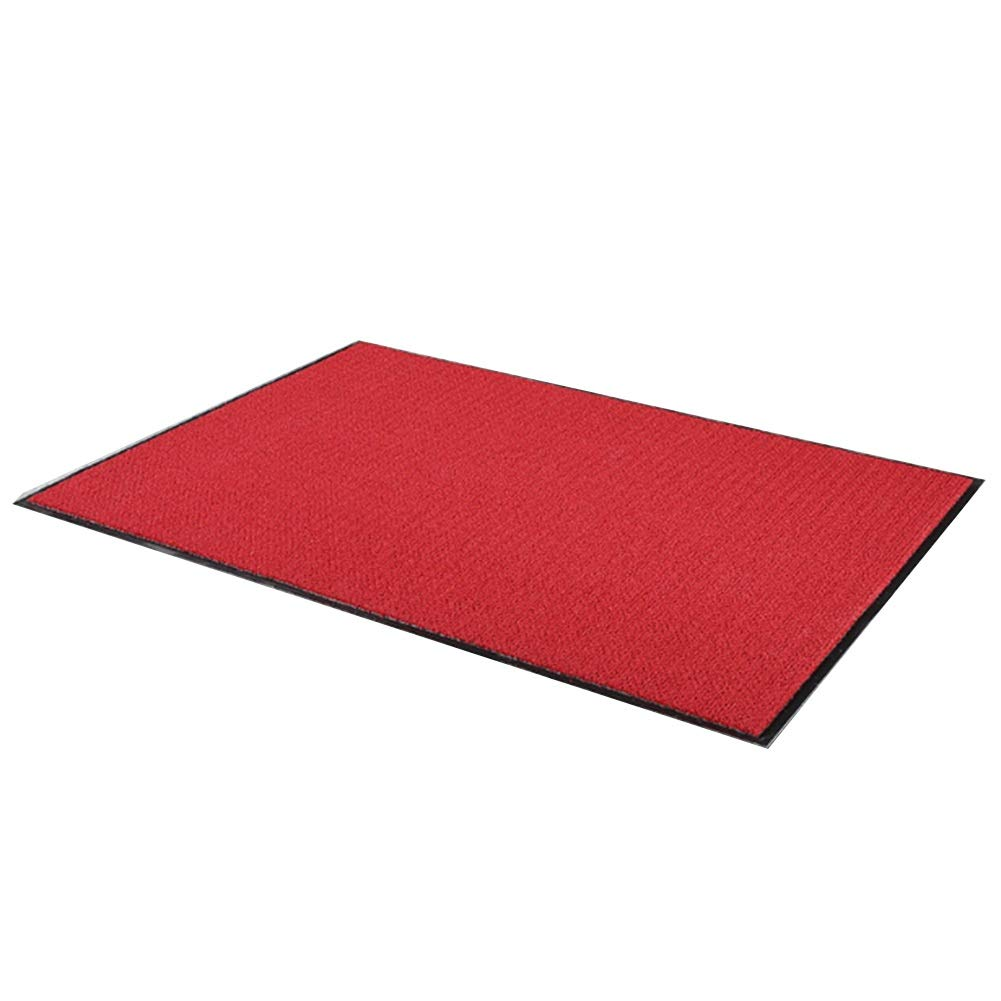 Bath Mat,Kids' Bath Rugs Bath Mat Entry Mat The Mall Hall The Company Doorway Absorbent Nylon Pad Non-Slip Dust Removal Carpet Bath Mat WEIYV (Color : Red, Size : 60100cm)