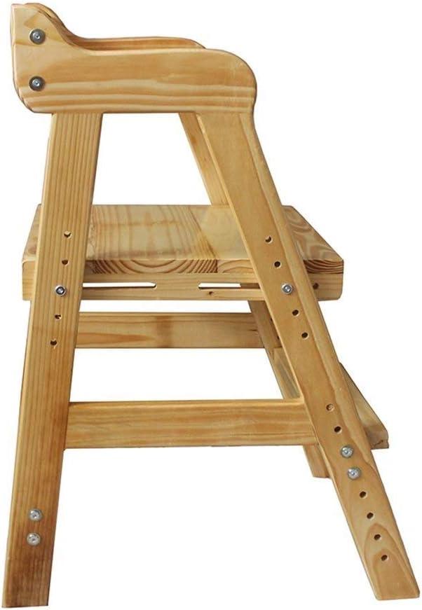 Jian E Escalera Plegable Madera maciza Escalera plegable taburete de aprendizaje estudiante silla infantiles plegables Escaleras telesilla respaldo silla plegable del taburete del pedal //: Amazon.es: Bricolaje y herramientas