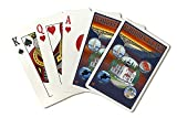 Whidbey Island, Washington (Playing Card Deck - 52 Card Poker Size with Jokers)