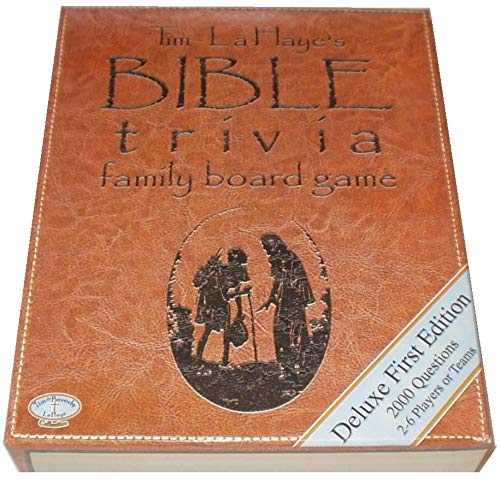 Tim La Haye's Bible Trivia Family Board Game
