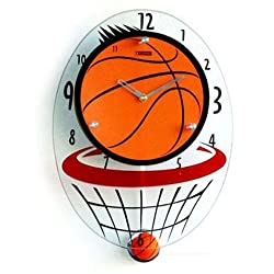 Creative Motion Basketball Hood Clock