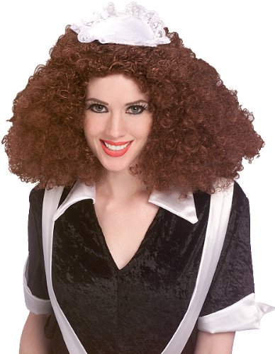 Rocky Horror Magenta Wig Costume Accessory