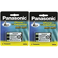Panasonic Cordless Telephone Battery (HHR-P104A) (2-Pack)