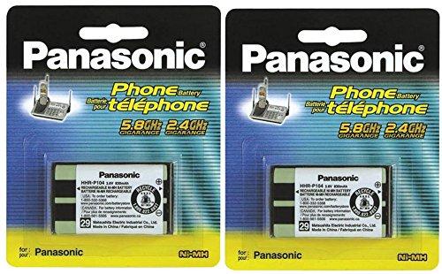 Panasonic Cordless Telephone Battery (HHR-P104A) (2-Pack)