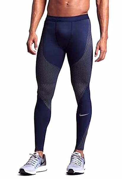 4586412188a70 Amazon.com : Nike Men's Power Zonal Strength Running Tights - Binary ...