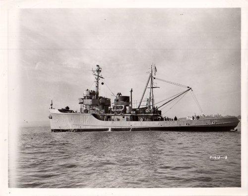 (unidentified Ship 8x10 Original Photo #Z3178 )
