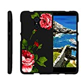 zte imperial 2 cases - Miniturtle [ZTE Imperial Max Case, ZTE Max Duo, Grand X Max 2, Kirk Slim Cover] -[Snap Shell] 2 Piece Rubberized Hard Cover Plastic Snap On Case - Affectionate Flowers