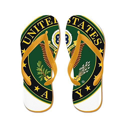 Ci Esercito Esercito ?? - Infradito, Sandali Infradito Divertenti, Sandali Da Spiaggia Arancione