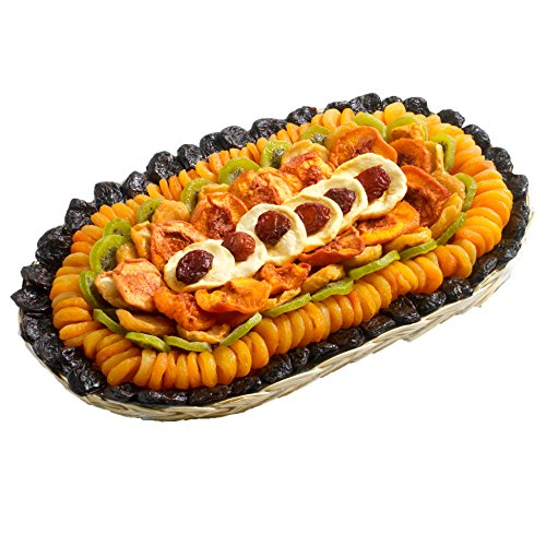 Broadway Basketeers Fathers Day Executive Collection Dried Fruit Gift Tray, 5 Pounds ()