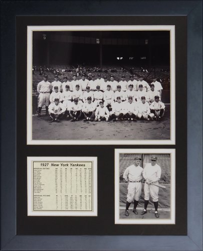 Legends Never Die 1927 New York Yankees Framed Photo Collage, 11 x 14-inch by Legends Never Die