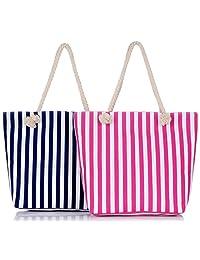 Binlion Canvas Beach Bag 2pcs/set