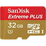 SanDisk 32 GB Micro SD Card Extreme PLUS Flash Memory Card - Class 10 32 GB UHS-I/U1 SDSDQX-032G (Certified Refurbished)
