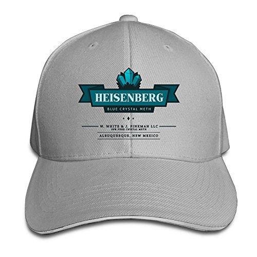 Blue Crystal Meth Business Breaking Bad Logo Baseball Hat Sandwich Bill Hat