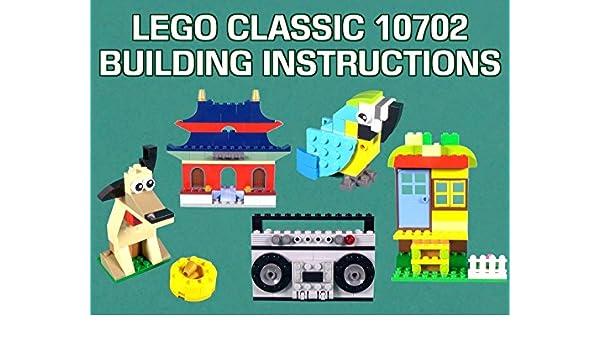 Amazon Lego Classic 10702 Building Instructions Id