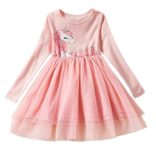 7703332e925a Amazon.com  Toddler Girls Tutu Princess Dress - Vintage Polka Dot ...