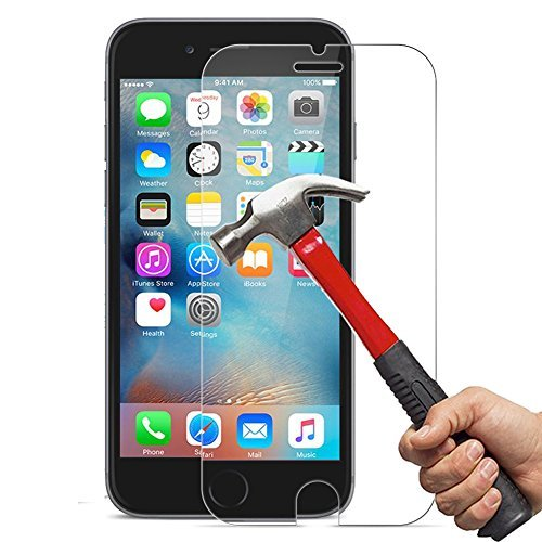 Screen Protector for iPhone 8 7 6 6S, OuTera Tempered Glass Screen Protector 3D Touch Compatible Anti-Scratch 9H Hardness Screen Protector for iPhone 8,iPhone 7,iPhone 6,iPhone 6S