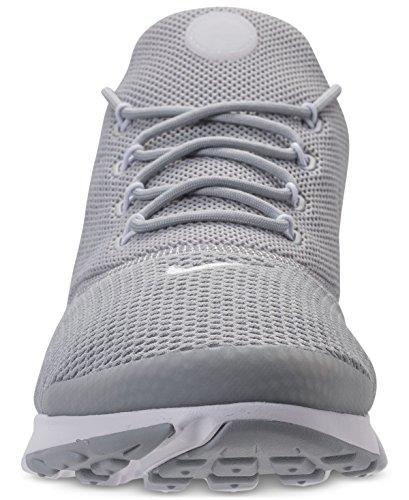 NIKE New Herren Presto Fly Running Sneaker Weiß / Metallic Gold