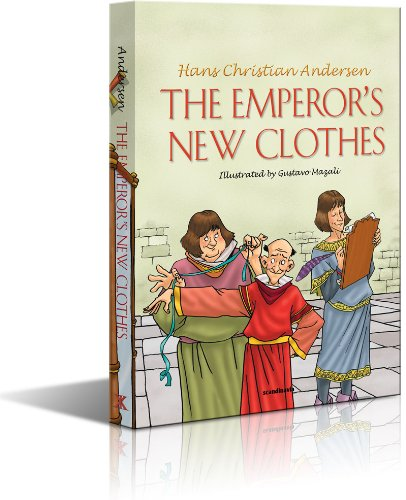 Emporers New Clothes - The Emperors New Clothes- Fairy Tales Book-Hans Christian Andersen-Children Story Book-Story Books for Children-Short Stories for Boys-Short Stories ... Uplifting Story Board Book Padded Hard Cover