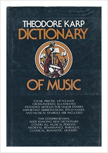 Book Dictionary of Music / Theodore Karp