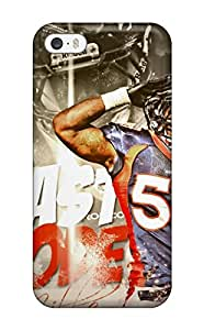 IFL-1998BWubQJcr Case Cover Protector For Iphone 5/5s Von Miller Case