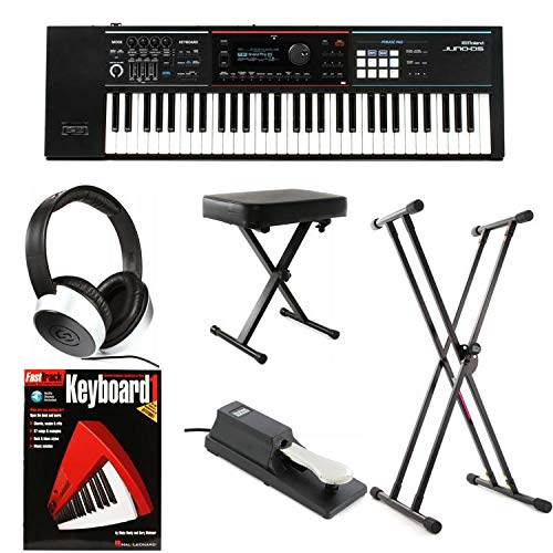 Roland JUNO-DS61 Essential Keyboard Bundle by Generic