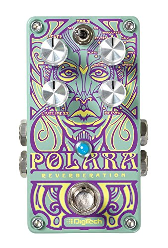 Digitech POLARA Lexicon Reverbs Stereo Pedal with On/Off Switch