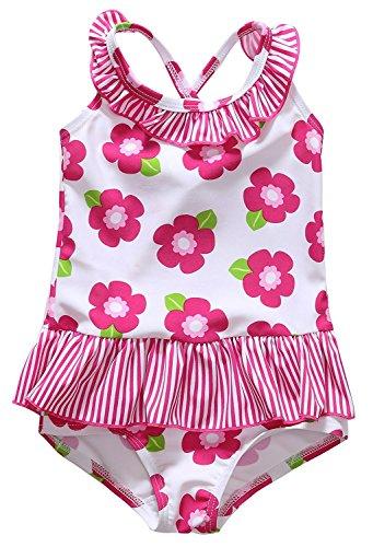 BeautyIn Baby Girls Print One Piece Swimsuit