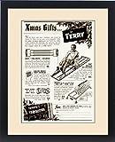 Framed Print of Advert for Terry s exerciser for men 1939