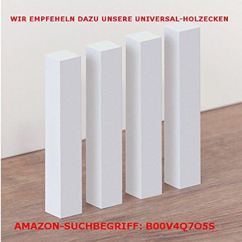 MDF foliert // 722.617 Mahagoni 50 Meter S/üdbrock Fu/ßleisten//Sockelleisten M/ünchen
