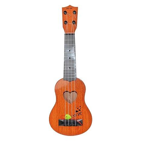 Juguete de Guitarra Ukelele Musical para Niños,Guitarra Clásica Juguete Eléctrico del Instrumento Música para
