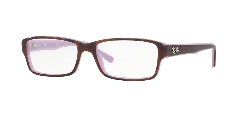 b0ebf3f7295 Amazon.com  Eyeglasses Ray-Ban Optical RX 5169 5240 TOP HAVANA ON OPAL  VIOLET  Shoes