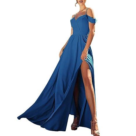 9254dfdc8f Copercn Women s Ladies Elegant Simple Pure Color Low Chest Spaghetti Strap  Drape Arm Band Off Shoulder