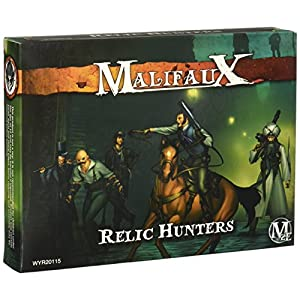 Wyrd Miniatures Malifaux Guild Relic Hunters Model Kit (7 Pack)