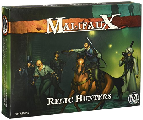Wyrd Miniatures Malifaux Guild Relic Hunters Model Kit (7 Pack) 3