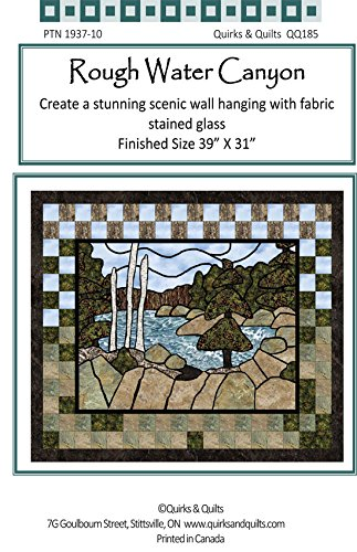 Rough Water Canyon Wall Hanging Quilt Pattern
