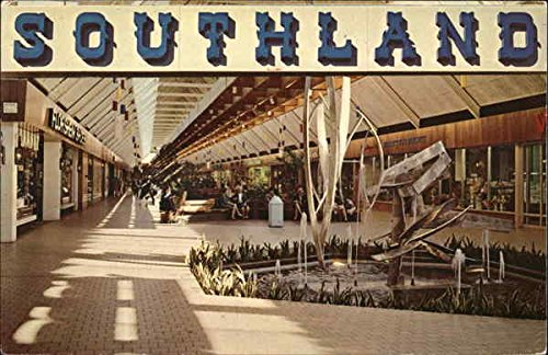 Southland Mall Memphis, Tennessee Original Vintage - Memphis Mall