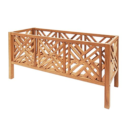 Achla Designs Fretwork Flower Box, 48-Inch by Achla