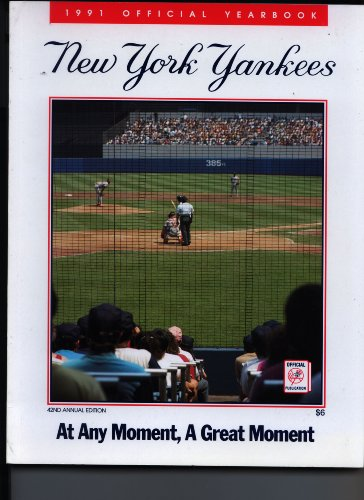 (1991 New York Yankees Official Yearbook )
