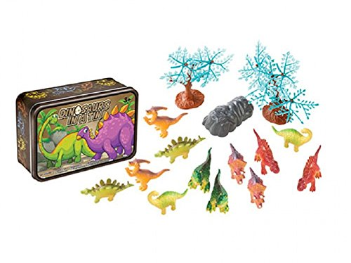 Small Tin Toy (15 Pc Dinosaurs in a Tin Travel Toy Set)