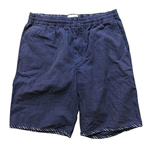 a4d217c4b2 Paul Smith RED Ear Indigo Stripe Shorts Cord String Fasten - Size M:  Amazon.co.uk: Clothing