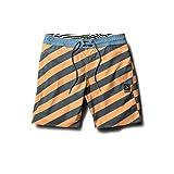 Volcom Men's Stripey Stoney 19'' Boardshort, Summer Orange, 30
