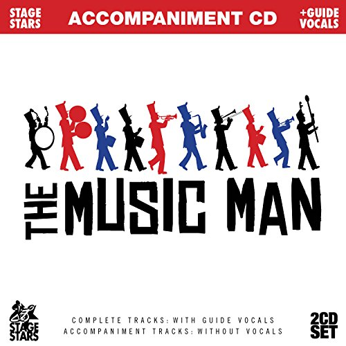 Man Karaoke Music - Songs from The Music Man (Accompaniment/Karaoke 2-CD Set)