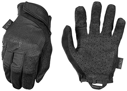 Mechanix Specialty Vent Covert Black Gloves, Medium