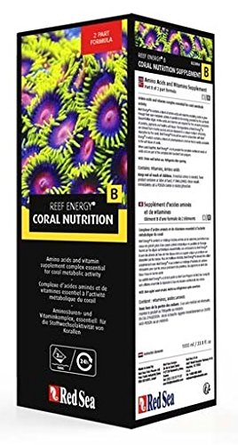 (Red Sea Reef Energy Amino Acids and Vitamins Nutrition-B for Aquarium, 1L)