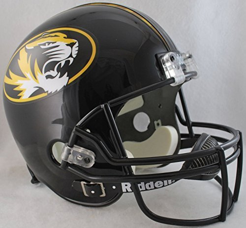 NCAA Missouri Tigers Deluxe Replica Football Helmet by Riddell (Tigers Deluxe Replica Helmet)