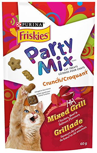 Purina® Friskies Party Mix® Cat Treats Nestle Purina Pet Care 055800115164