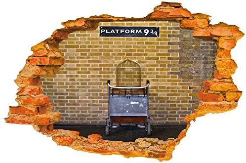 Harry Potter Inspired Vinyl Wall Sticker Platform 9 3//4
